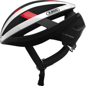 ABUS Viantor - Casque de vélo - rouge/blanc